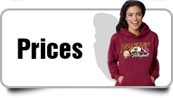 Volleyball T Shirts and Hoodies - Prices